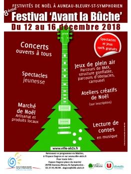 8ème Festival avant la Bûche - Du 12 au 16 décembre 2018 64f9d0ec0e4